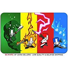Castle Crashers Video Game Stylish Playmat Mousepad (24 x 14) Inches [MP] Castle Crashers- 1