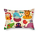 Pillowcover 20 X 30 Inches / 50 By 75 Cm(twice Sides) Nice Choice For Lounge Chair Divan Bench Car Seat Gril Friend Cartoon