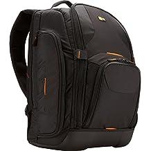 Case Logic SLRC-206 SLR Camera and 15.4-Inch Laptop Backpack (Black) (Renewed)