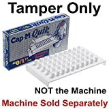 Cap M Quik Tamper only ~ Accessory ~ size 1 / 0 for quick filler capsule holder