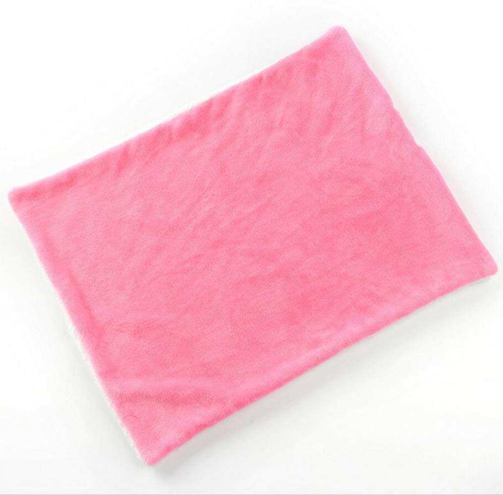 Andre Home Soft Warm Dog Sleep Mat Pet Cushion Small Dog Cat Bed (rosa) Coperta per Lettino