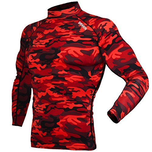 3d618db3e3682 DRSKIN Compression Cool Dry Sports Tights Shirt Baselayer Running Leggings  Yoga Rashguard Men (SMRE33, 3XL) - Buy Online in Oman. | Apparel Products  in Oman ...
