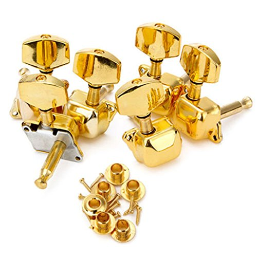 ULKEME Acoustic Guitar String Semiclosed Tuning Pegs Tuners Keys Machine Heads 3L3R New