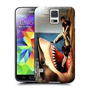Unique Phone Case Watch out very real 3D art Hard Cover for samsung galaxy s5 cases-buythecase