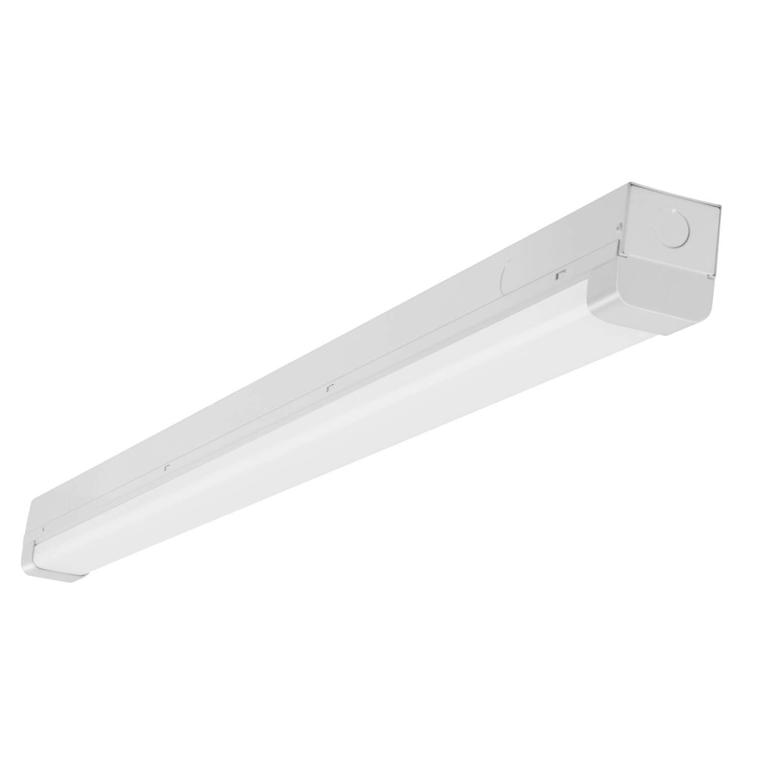 GOOLSUN 4FT LED Garage Shop Light, 38W 5300 Lumens, LED Wraparound Ceiling Light Fixture, 5000K Daylight White, LED Linear Flushmount Lighting, DLC Premium 4.2 Qualified, 150W Fluorescent Replacement