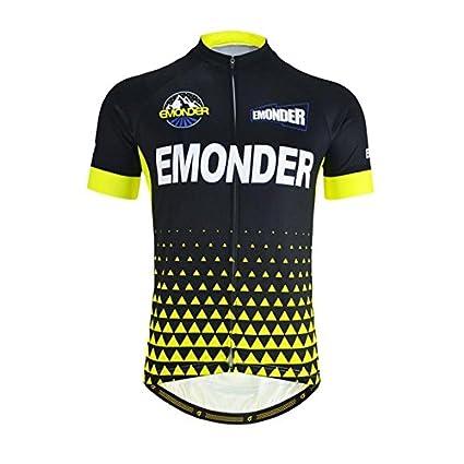 b09e34996 Buy SRS Summer Men Cycling Jersey Mavic Pro Team Short Sleeve -Gold ...