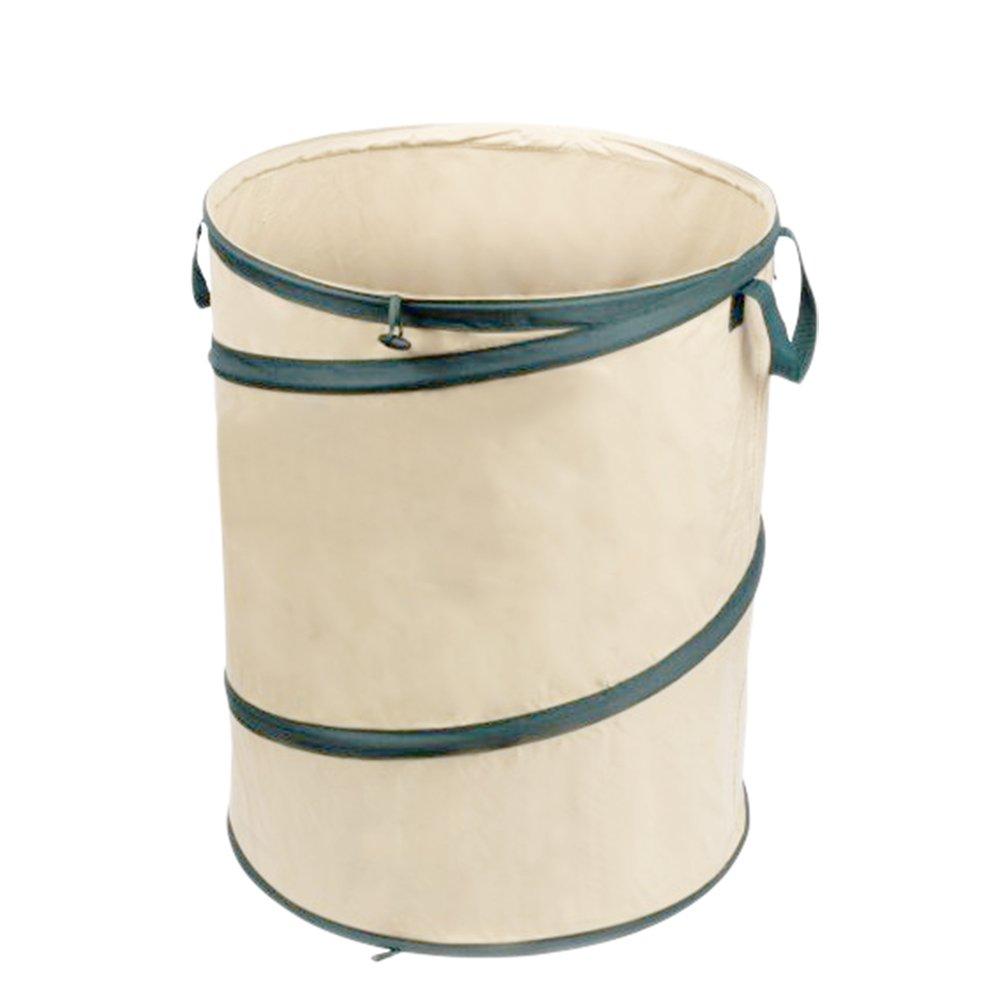 MorisMos Collapsible Leaf Bag, Garden Waste Bag, Pop Up Garden Bag, Multiple Uses for Leaf, Weeds, Cloths 30 Gallon Leaf bag_30gal