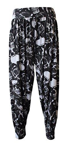 Rose Mujer Elum®®®® Pantalón Para Skull np7ITS