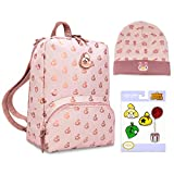 Controller Gear Official Nintendo Animal Crossing Collectors Set New Horizons: Rose Gold Island Mini Backpack Switch Case, Celeste Floral Knit Beanie Foldover, Lapel Pins - Nintendo Switch (Color: the Limited Edition Rose Gold Island & Celeste Bundle)