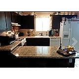 """Instant Granite Counter Top Cover Santa Cecilia 36"""" X 144"""""""