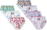 Shopkins Little Girls' 7 Pk Panty, Assorted, 4