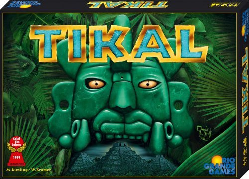Abacus Spiele ABA13051 Tikal Board Game by Abacus Spiele (Tikal Board Game)
