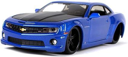 Lmei Cars 2010 Chevrolet Camaro Ss Modifiziertes Modellauto Original Maßstab 1 24 Statische Simulation Druckgussauto Metallkarosserie Fertigmodell Amazon De Garten