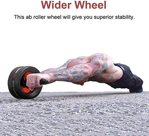 KEREITH Ab Roller for Abs Workout Ab Roller Wheel Exercise Equipment for Home Gym 6