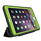 5-Piece Ultimate Protection iPad Pro 12.9 Case With Built-In Screen Protector | Drop Protection | Water, Dust, & Scratch Resistant (Lime Green)