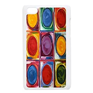 Color Palette iPod Touch 4 Cover Case, Color Palette DIY Cell Phone Case, iPod Touch 4 Custom Case