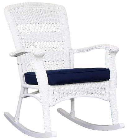 Tortuga Outdoor Plantation Wicker Rocking Chair