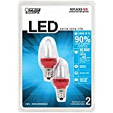 Feit Electric BPC7/R/LED LED Replacement Night Light, Red