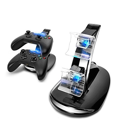 Dual Charger Station Wireless Controller Charger for Xbox