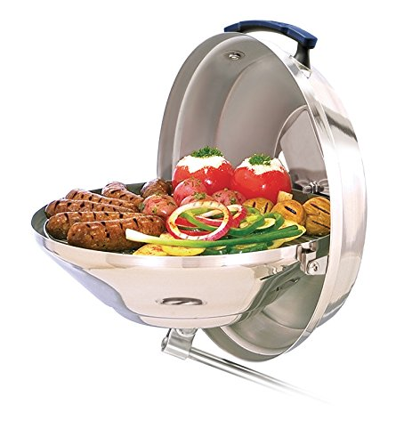 Magma Products, A10-104 Marine Kettle Charcoal Grill w/Hinged Lid, Original Size