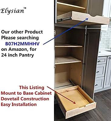 20w x 22d elysian soft close wooden