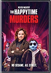 The Happytime Murders is a filthy comedy set in the underbelly of Los Angeles where puppets and humans coexist. Two clashing detectives with a shared secret, one human (Melissa McCarthy) and one puppet, are forced to work together again to so...