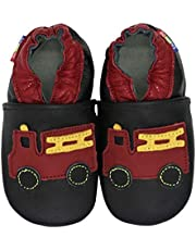 Carozoo Christmas 0-6M up to 8 YRS Soft Sole Leather Baby Kids Toddlers Shoes