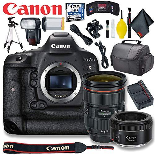 Canon EOS-1D X Mark II DSLR Camera Premium Kit (International Model)