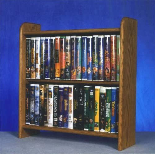 Solid Oak Cabinet for DVD s, VHS tapes, books and more