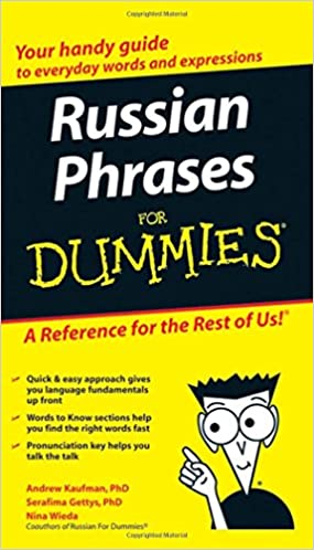 Book Russian Phrases for Dummies