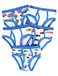 Briefs for Boys - Pack of 5 Underwear for Toddlers & Kids