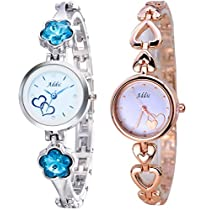 Addic Best Selling Combo of Two Smart Women's Watches (Super