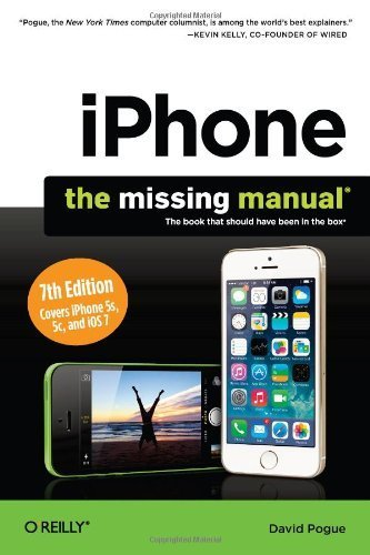 IPHONE: THE MISSING MANUAL BY POGUE, DAVID (AUTHOR) PAPERBACK (2013 )