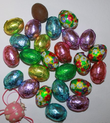 Premium Solid Milk Chocolate Easter Eggs