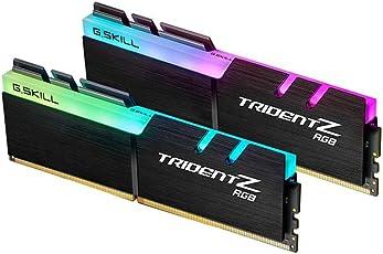 G.Skill 16GB DDR4 RGB TridentZ 3600 MHz PC4-28800 CL18 1.35V Kit de Doble Canal (2x8GB) para Intel Z270
