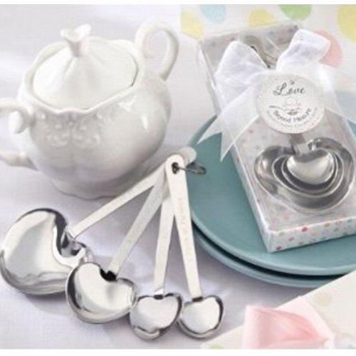 Love Beyond Measure Stainless-Steel Measuring Spoons Baby Shower Favor (pack of 10)