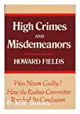 High crimes and misdemeanors: