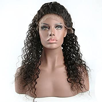 Lace Wigs Dependable Eva Hair 150% Density 360 Lace Frontal Wigs With Baby Hair Ocean Wave Pre Plucked Front Lace Wig For Women Brazilian Remy Hair Hair Extensions & Wigs