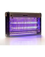 جهاز قاتل الحشرات الكهربائي من جيباس باللون الفضي/ الاسود، موديل GBK1135N