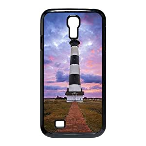 Unique DIY Design Cover Case with Hard Shell Protection for SamSung Galaxy S4 I9500 case with Lighthouse lxa377819