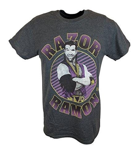 Razor Ramon Hey Yo WWE Mens T-shirt-XXL by WWE
