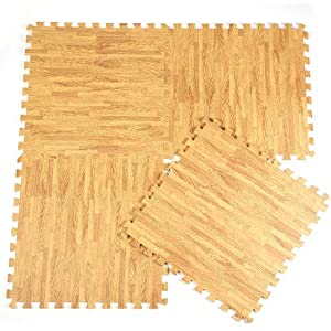 Wood Effect Protective Flooring Mat For Kids Living Room Soft Play Mat  Jigsaw Play Mats (40) Part 65