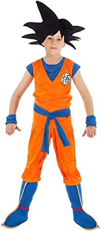 Chaks Disfraz Goku Dragon Ball Z niño 11 a 12 años: Amazon.es ...