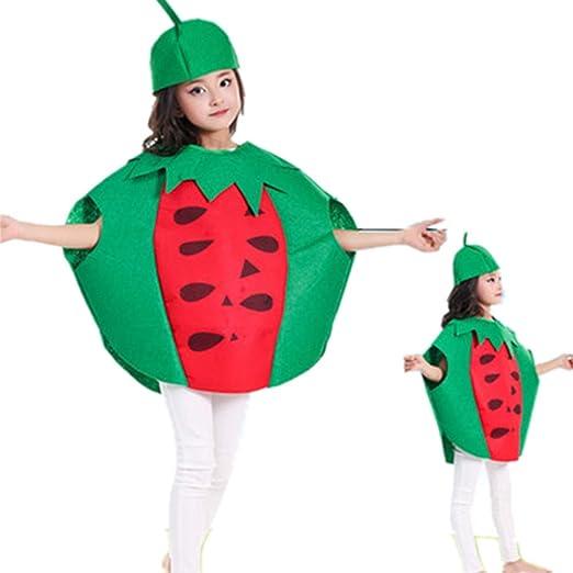 Markcur Disfraz de Halloween, para niños, de frutas, Cospaly ...
