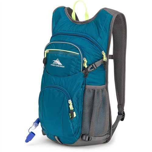 High Sierra HydraHike 16-Liter Hydration Pack with 2L Reservoir Included - Hydration Backpack with 2-Liter Water Bladder - Ideal as Bike Hydration Pack, Hiking Hydration Pack, Running Hydration Pack ()