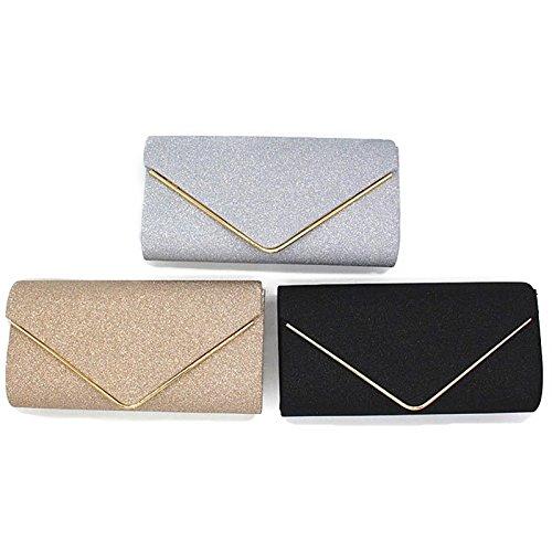 Gold Evening Party Nodykka Shoulder Body Cross Purses Clutch Envelope Bags Women For Handbags Uxq7HqATw