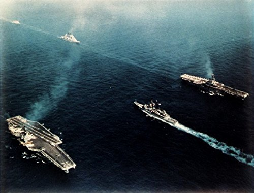 View of the parade on occasion of the 20th anniversary of the U.S. Navy's Sixth Fleet in the - Mfnw