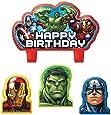 Amscan Bougie anniversaire Avengers (x4)