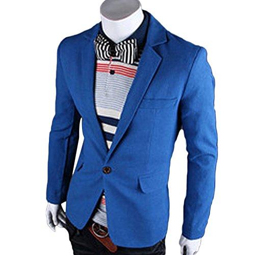 Verypoppa Notched Trim Fit Blazer Jackets product image