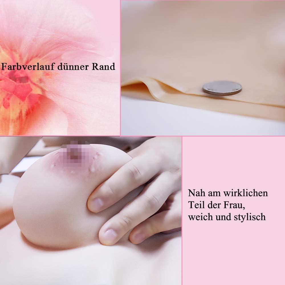 Erste Generation KUMIHO Silikon Brust Brustformen Brustprothese k/ünstliche br/üste Transgender Crossdresser Realistische Haut Seidenbaumwolle C D F Cup